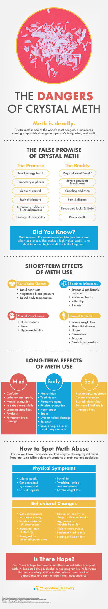 The Dangers Of Crystal Meth Infographic Small