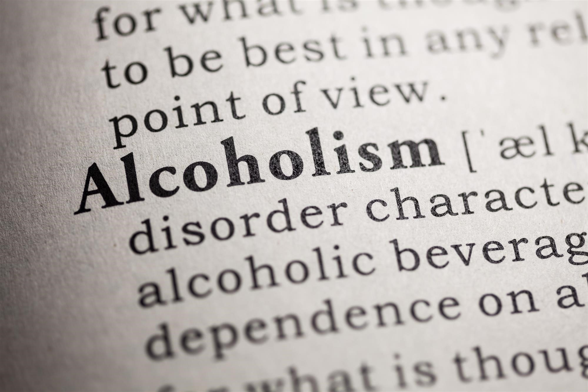 the definitions and causal factors of alcoholism Addiction to alcohol has been found to have both genetic and environmental  causes.