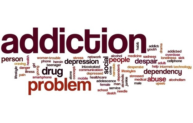 Addiction Word Cloud2