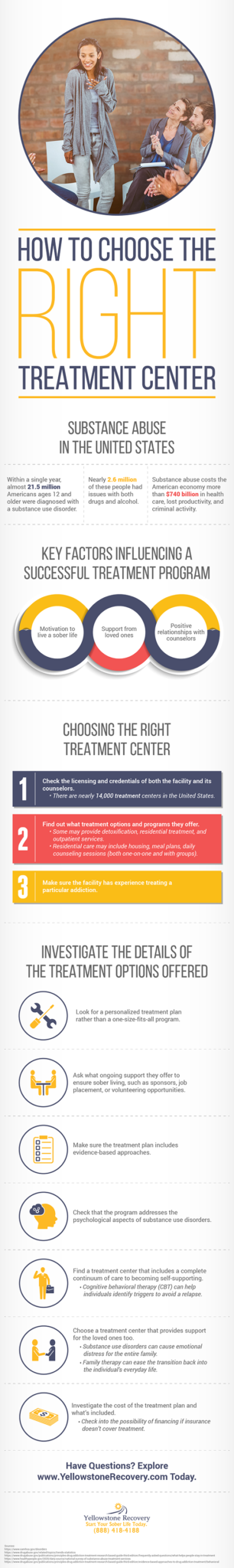 How To Choose Right Treatment Center Infographic Yellowstone Recovery Sml