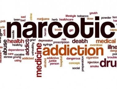 narcotics word cloud