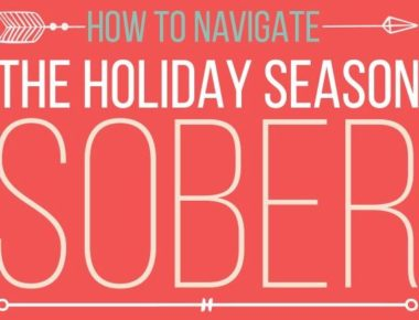 Navigate Holidays Sober Featured Image