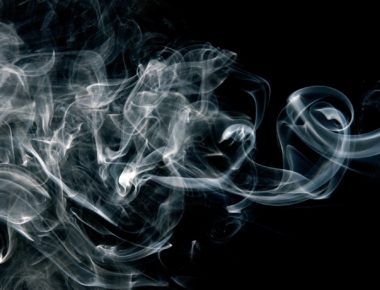 smoke fumes from drugs