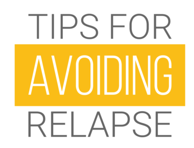 Tips for Avoiding Relapse (Infographic)