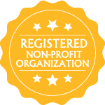 registered non-profit organization logo